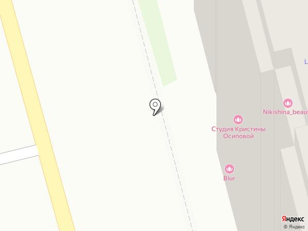 Савас на карте Тулы