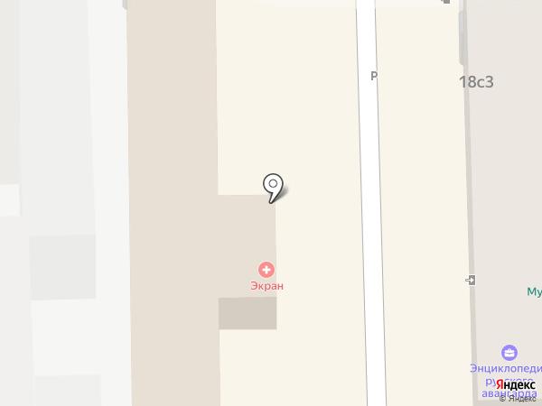 PartsDirect на карте Москвы