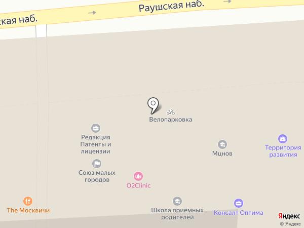 Sapphire на карте Москвы