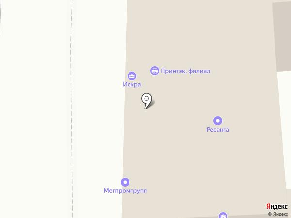 Кирюкан на карте Москвы