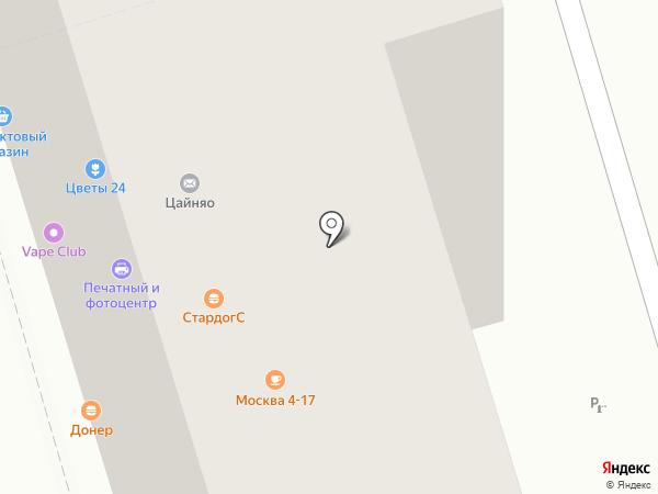 EstaFiesta на карте Москвы