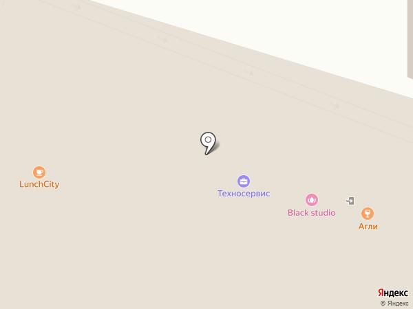 LT mix на карте Москвы