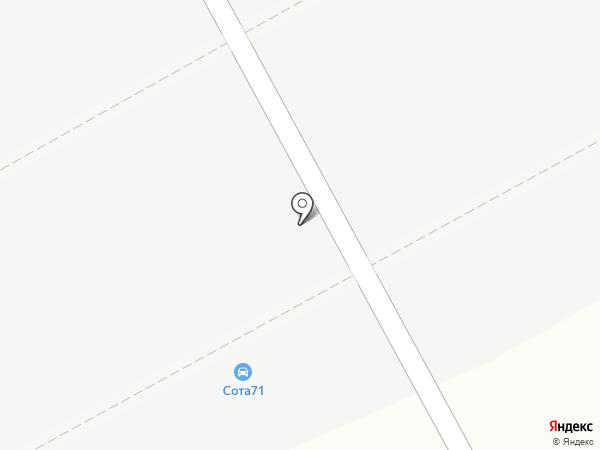 Автостекольная мастерская на карте Тулы