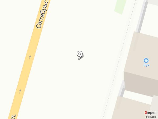 Луч на карте Тулы