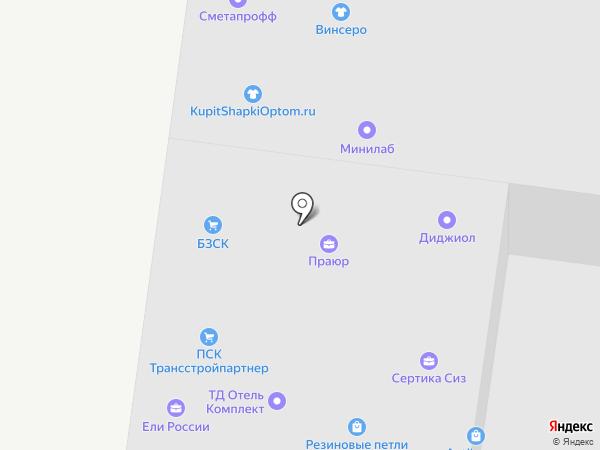СураТекс на карте Москвы