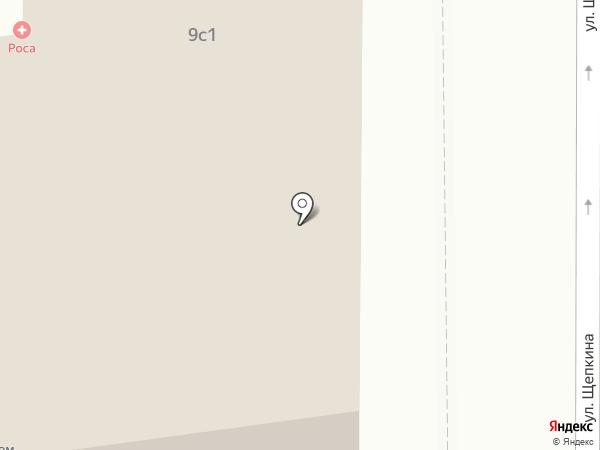 АртХоумДизайн на карте Москвы