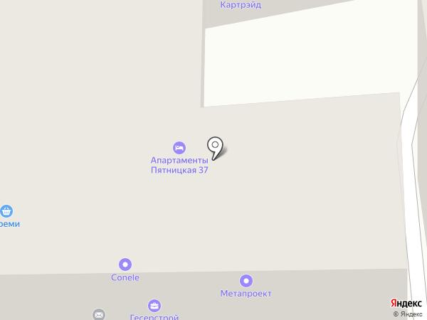 Пятницкая 37 на карте Москвы