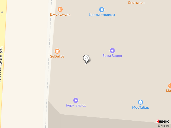 Платежный терминал, Телекоммерц Банк на карте Москвы