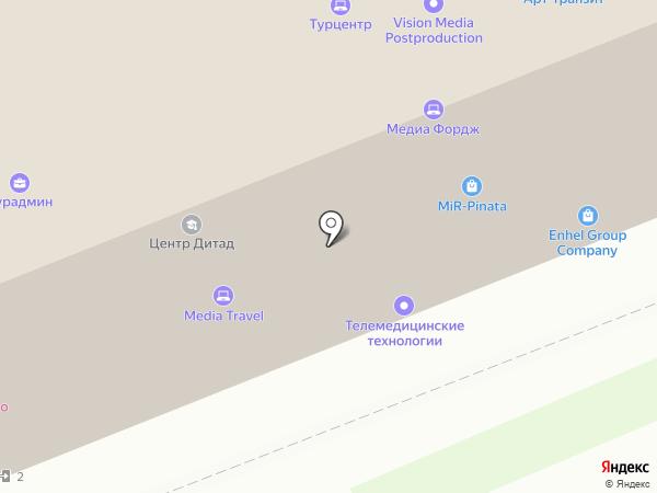 Eye Design на карте Москвы