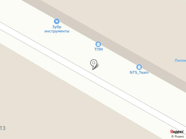 Строй-Точка на карте Тулы