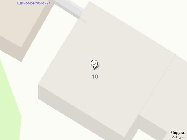 Шиномонтажечка на карте Тулы