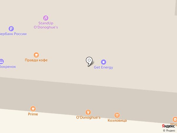 O`Donoghue`s на карте Москвы