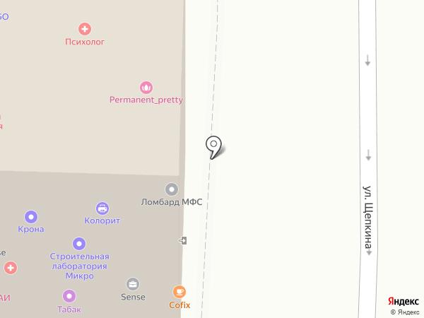 Мобилон на карте Москвы