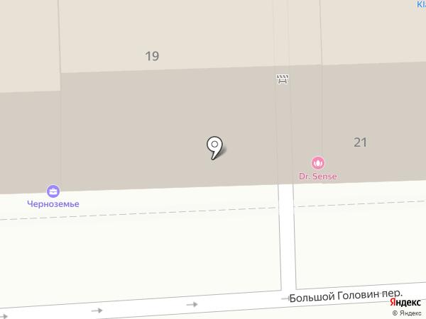 Черноземье на карте Москвы