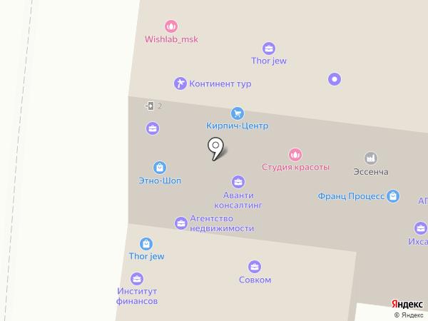 Районное агентство недвижимости на карте Москвы