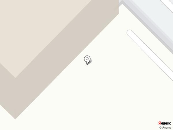 Лабель на карте Москвы