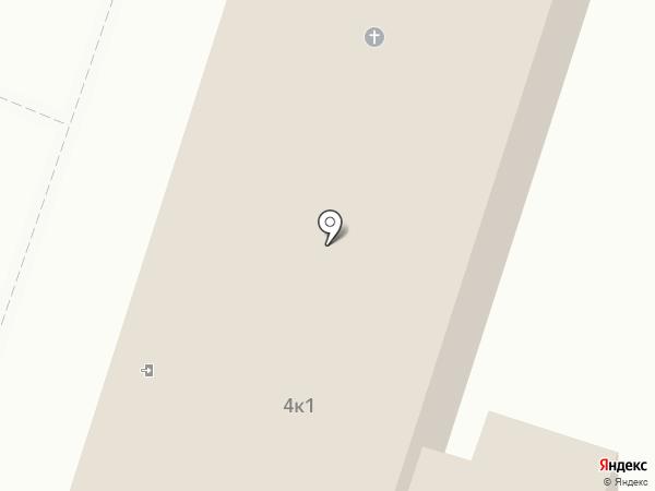 Следственный изолятор №4 на карте Москвы