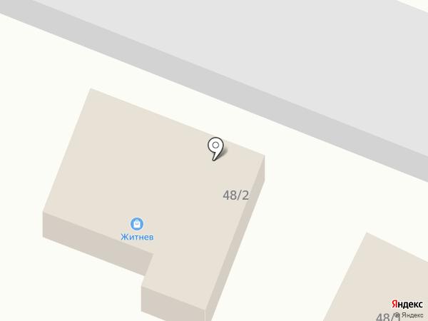 Житнев на карте Троицкого