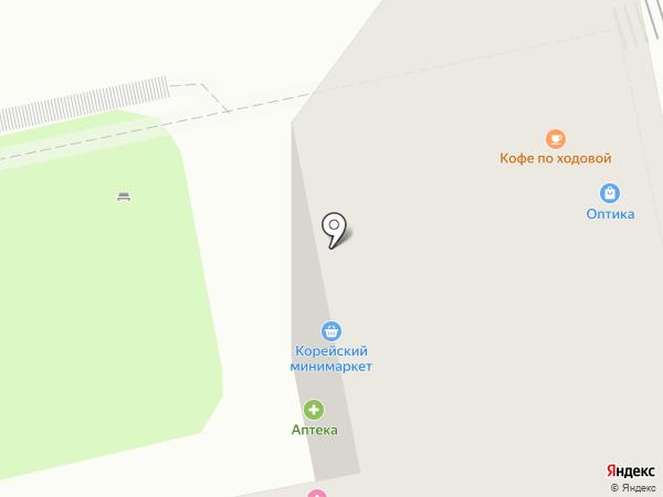 Кореан Фуд на карте Москвы