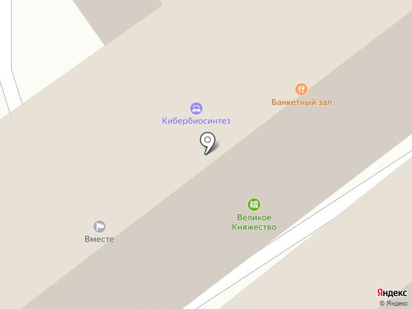 Наш Лофт на карте Москвы