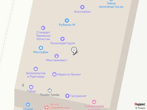 Сервис-Авто на карте Москвы