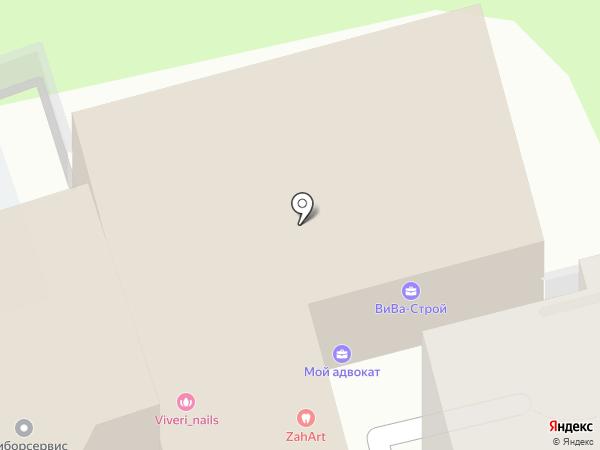 Drivix на карте Москвы