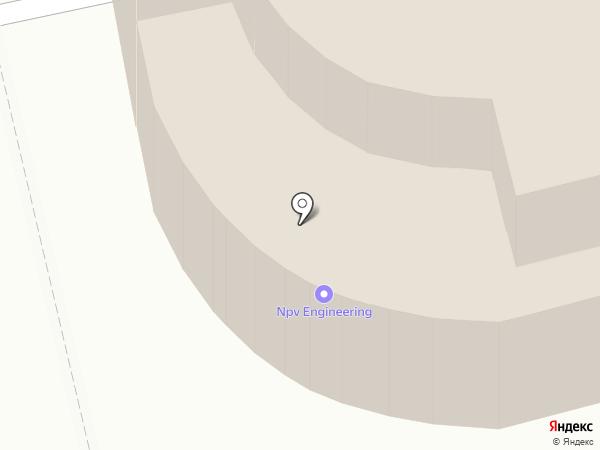 NPV на карте Москвы