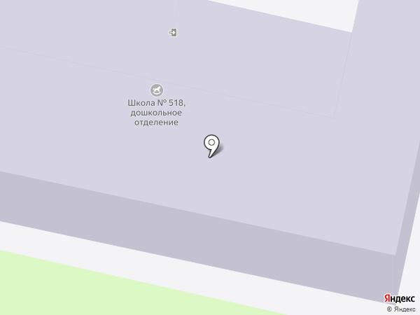 Детский сад №2022 на карте Москвы