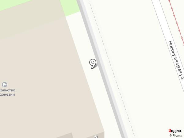 Посольство Республики Индонезии в г. Москве на карте Москвы