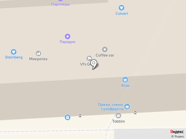 Трубопроводные системы и технологии, ЗАО на карте Москвы
