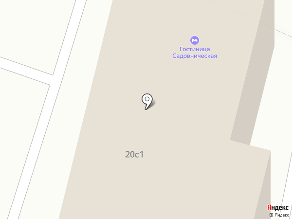 Симпл на карте Москвы