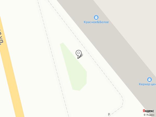 КЕРХЕР на карте Тулы