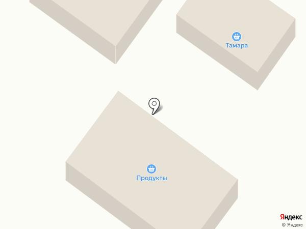 Милава на карте Мещерского
