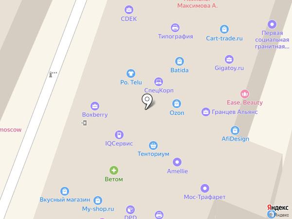 ЭНИГМА-ПРО на карте Москвы