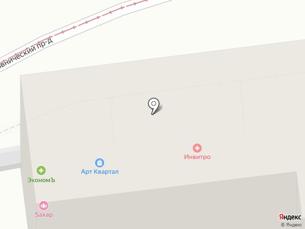 СОЦФАРМ на карте Москвы