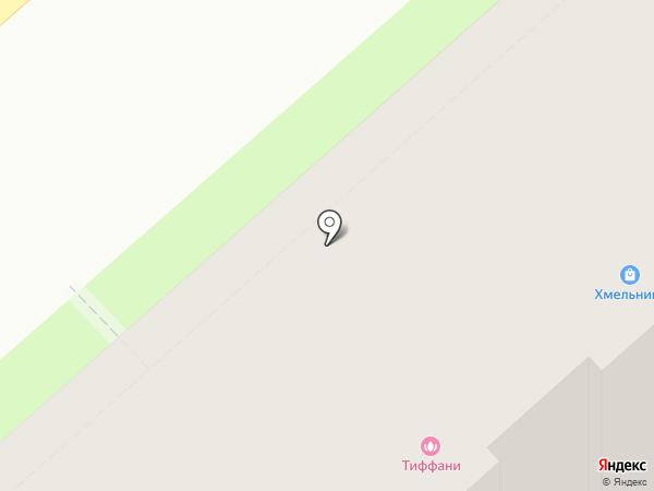 Тиффани на карте Тулы