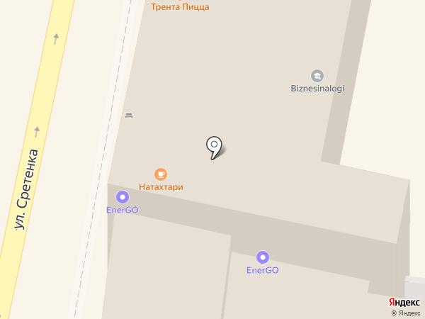 Натахтари на карте Москвы