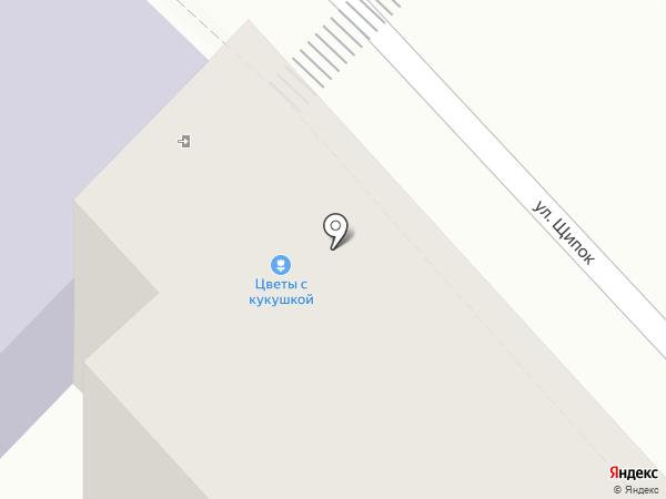 ЦВЕТЫ С КУКУШКОЙ на карте Москвы