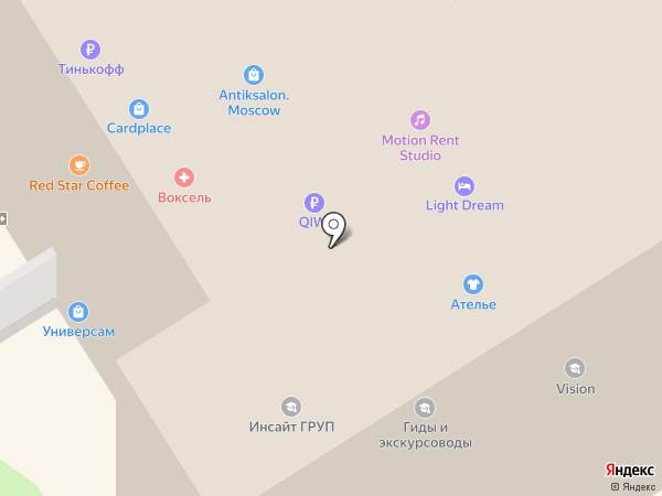 МРБК на карте Москвы