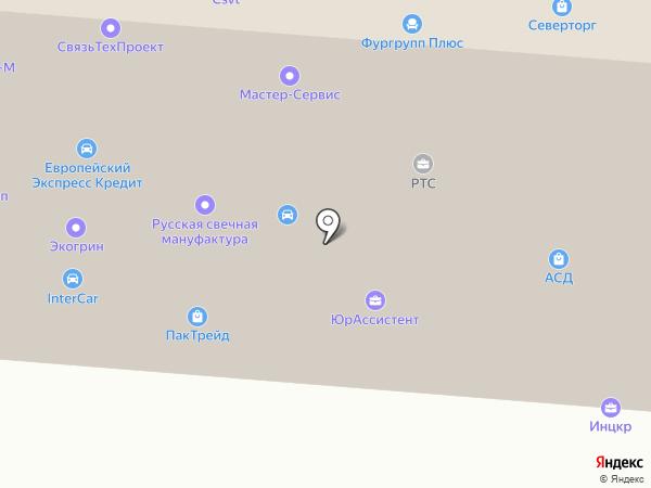Факел-Пром на карте Москвы
