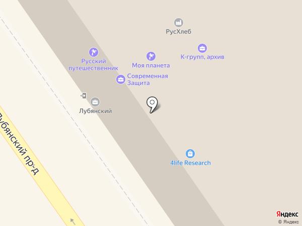 Andrey & Femida на карте Москвы