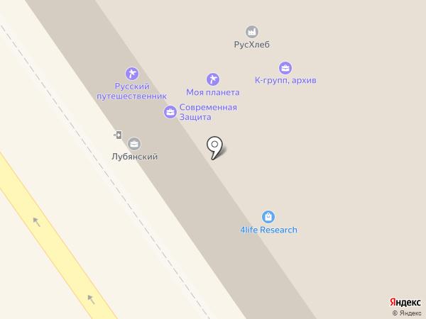 Storelab на карте Москвы