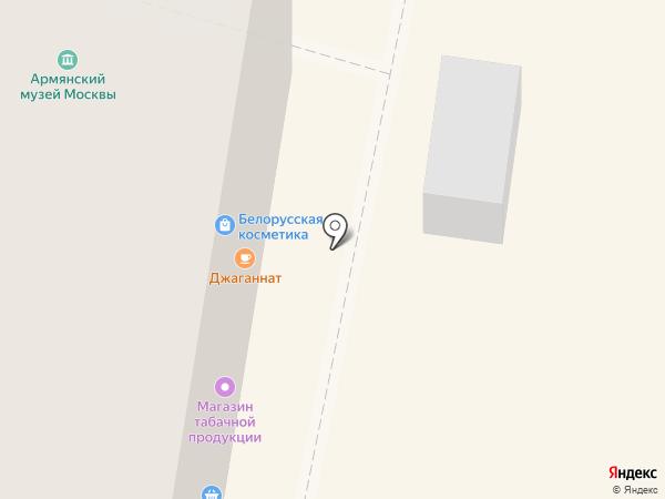 Джаганнат на карте Москвы