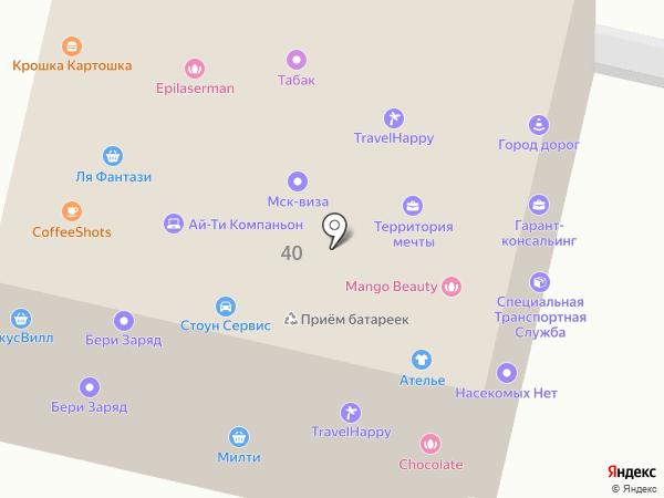 TimesPrint на карте Москвы