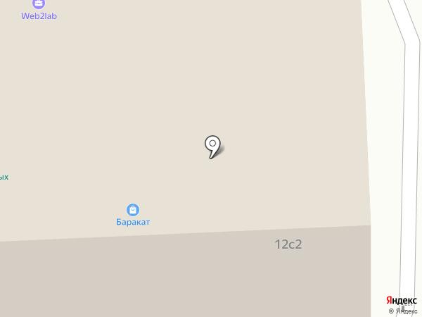 ODRY Club на карте Москвы