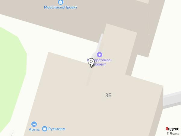 МосСтеклоПроект на карте Москвы