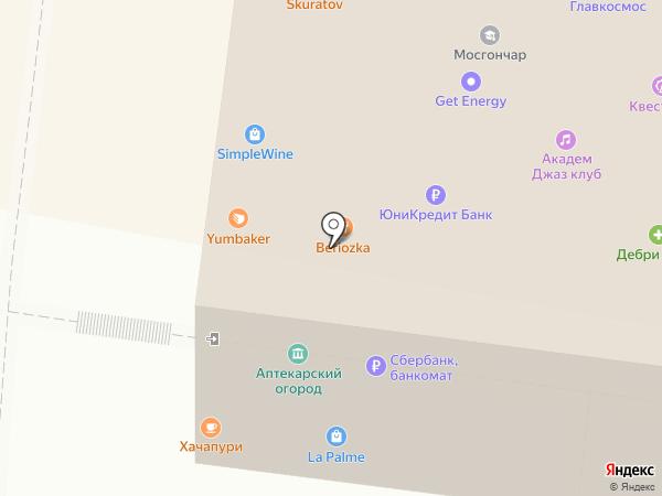Malinovka на карте Москвы