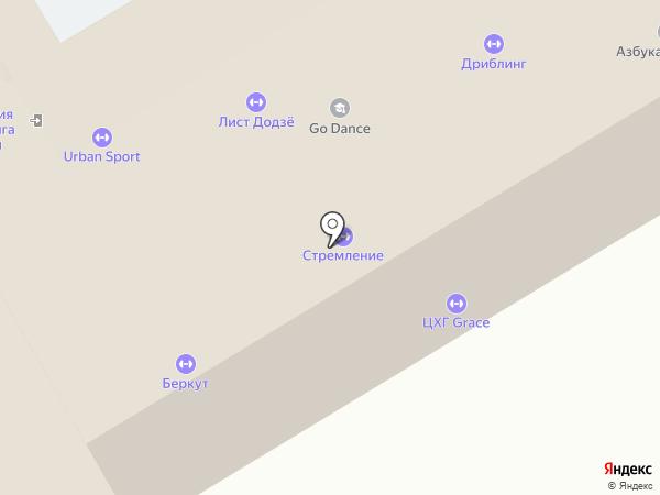 Мегаград на карте Москвы