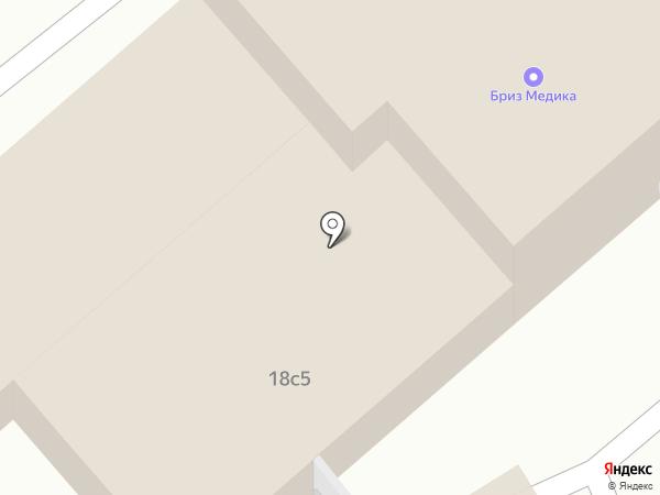 Московское центральное конструкторское бюро арматуростроения на карте Москвы