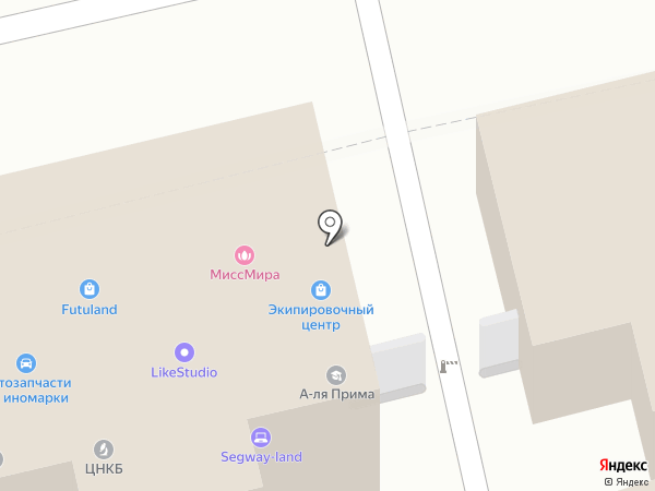 Орто Лидер на карте Москвы